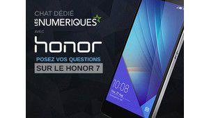 Chat dédié: échangez avec Honor au sujet du Honor 7 à 17h