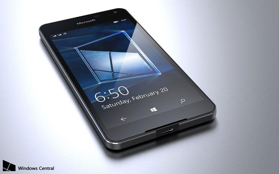 Microsoft lumia 650 fuite 2