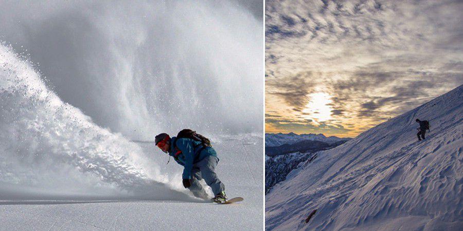 Exercice photo ski