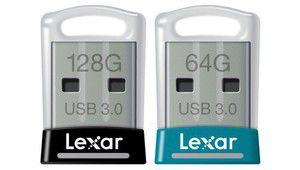 CES 2016 – Lexar JumpDrive S45, des mini-clés USB très intéressantes