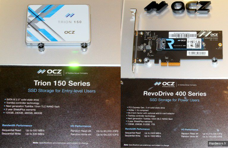 OCZ Trion 150 RenoDrive 400