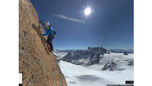 Street View s'offre l'ascension du Mont Blanc