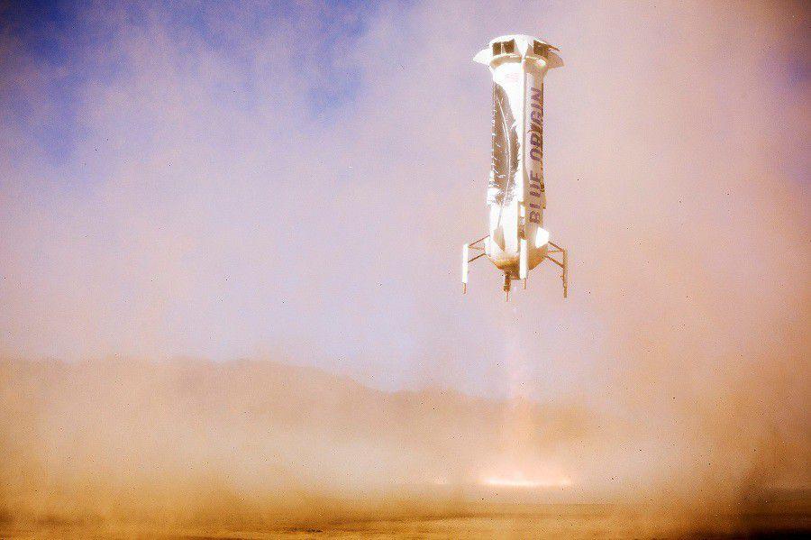 New Shepard new landing