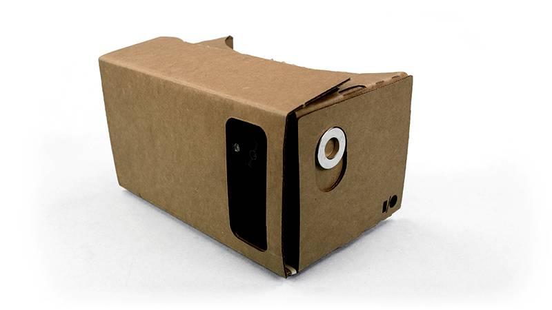 Cardboard face
