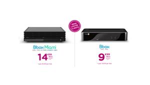 Bouygues Telecom: la Bbox Miami à 14,99€ pendant un an