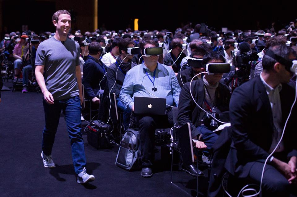 Mark Zuckerberg MWC2016 VR Samsung