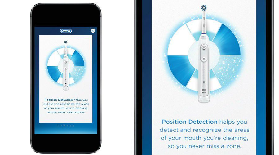 Actu Oral B Genius application detection