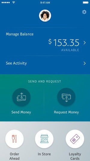 PayPal screenshot new app
