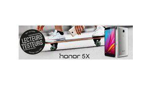 Lecteurs-testeurs Honor 5X: l'écran