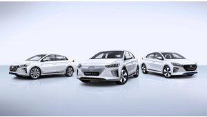 Genève 2016 – Le trio des Hyundai IONIQ