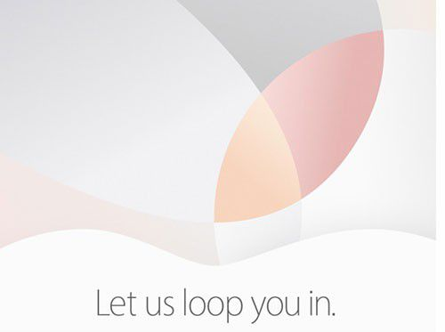 Invitation apple conference apple 21 mars 2016
