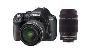 Bon plan – Double kit Pentax K-50 + 18-55 mm + 55-300 mm à 449 €