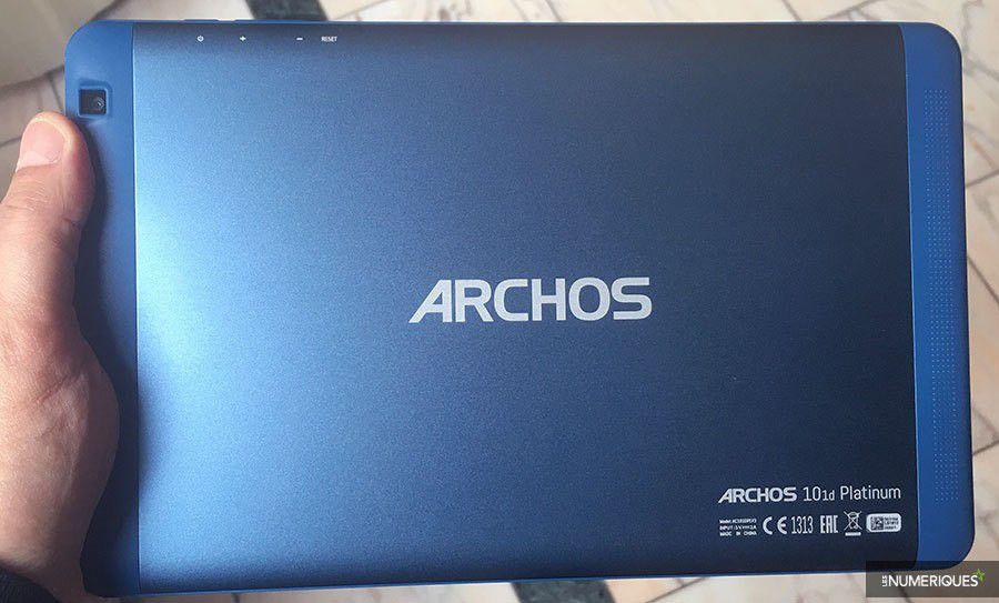 Archos 50c cobalt 101d platinum edition limitee equipe de france 2
