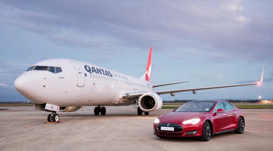 Qantas vs Tesla S