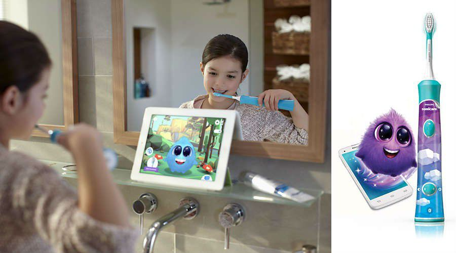 Actu brosse a dents Philips sonicare for kids sparkly