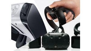 Oculus Rift vs HTC Vive: testez la VR dans notre rédaction!