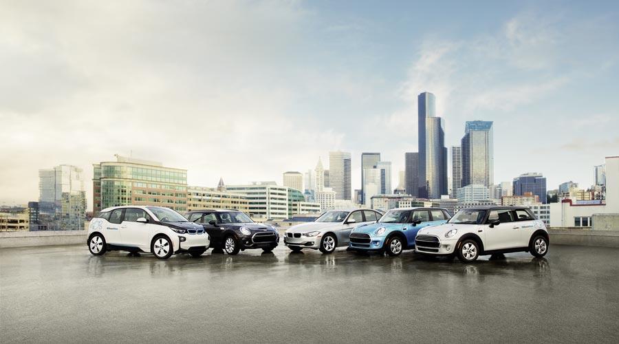 BMW ReachNow Seattle (visuel constructeur)