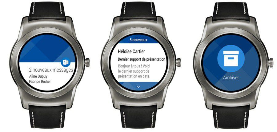 Outlook Android Wear