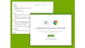 Chrome OS: le Play Store se cache dans les tuyaux
