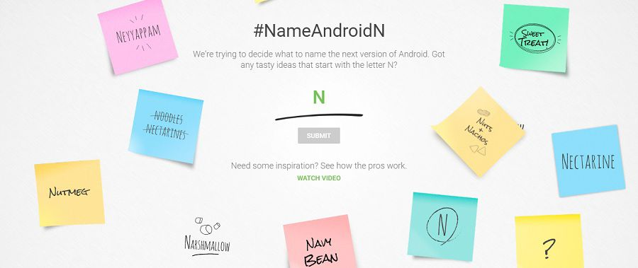 Name Android N