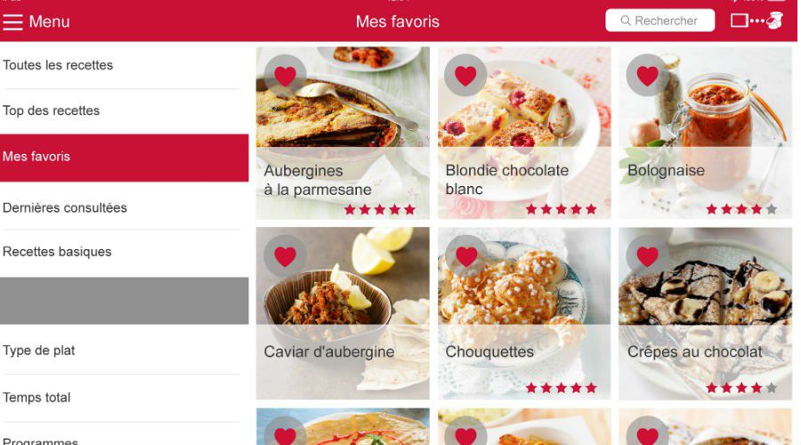 Actu Moulinex iCompanion application recettes