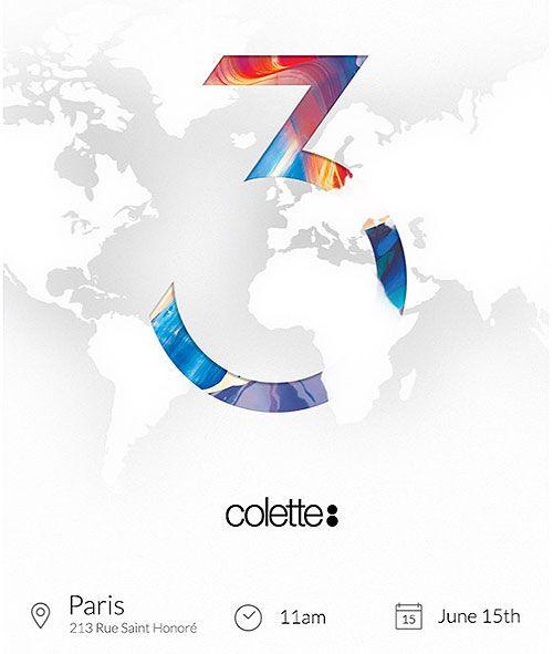 Oneplus 3 lancement vente boutique france paris colette 2