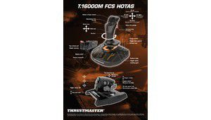 Thrustmaster T.16000M FCS Hotas, un joystick pour Elite Dangerous
