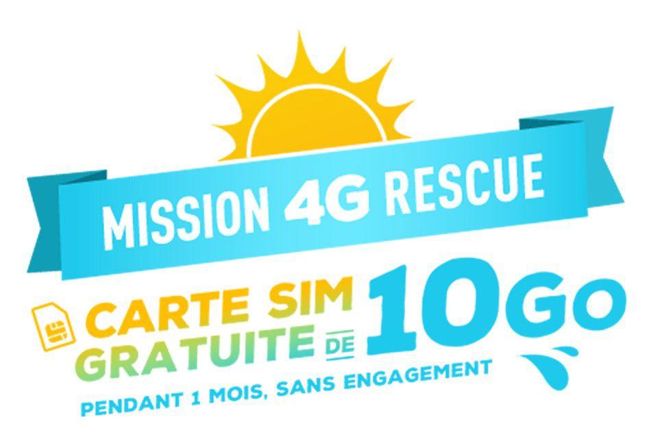 Bouygues 4G 10Go gratuits