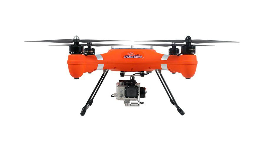 SwellPro Splash Drone orange