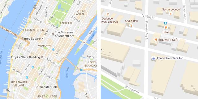 Google Maps lifting zoom