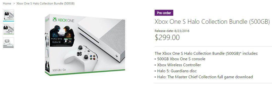 Microsoft store Xbox One S 500