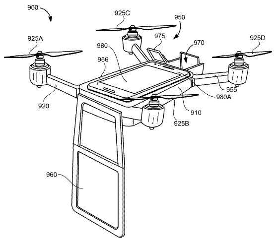Google drone visioconférence