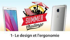 Summer Challenge Honor 5X: les avis sur le design et l'ergonomie