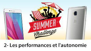 Summer Challenge Honor 5X : les performances et l'autonomie