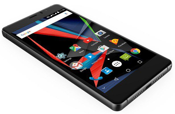 ARCHOS 55 Diamond Selfie side