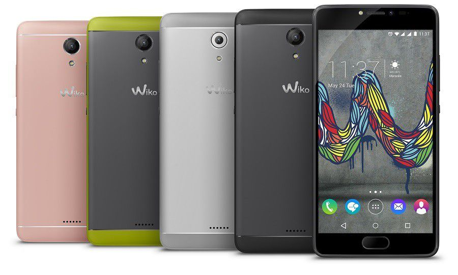 Wiko Ufeel Fab All Colors Compo