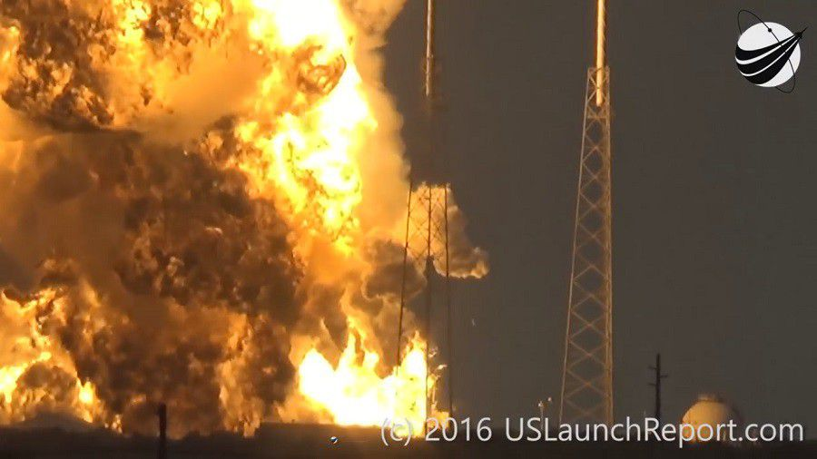 SpaceX Falcon 9 Amos 6