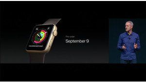 La montre Apple Watch Series 2 à partir de 419€, dès le 9 septembre