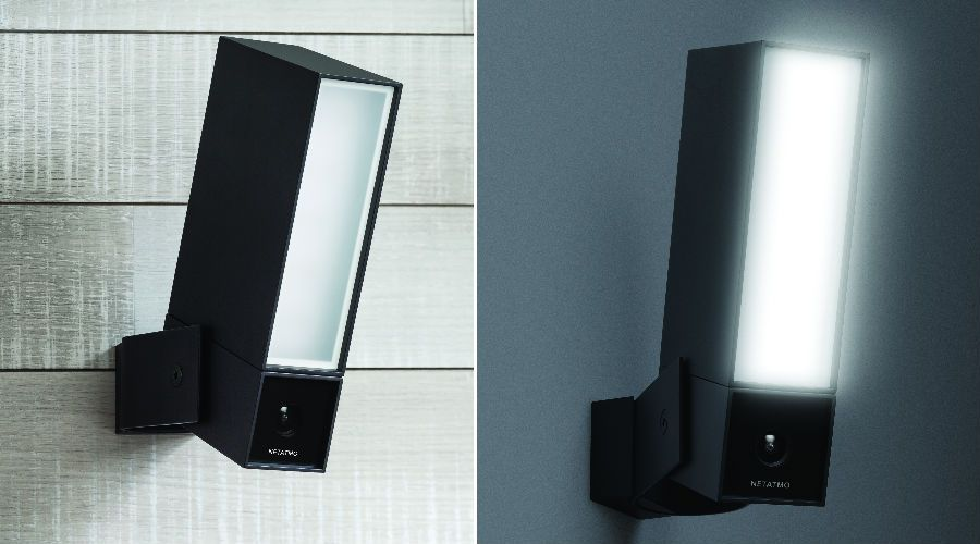 netatmo presence la cam ra ext rieure avec clairage les num riques. Black Bedroom Furniture Sets. Home Design Ideas
