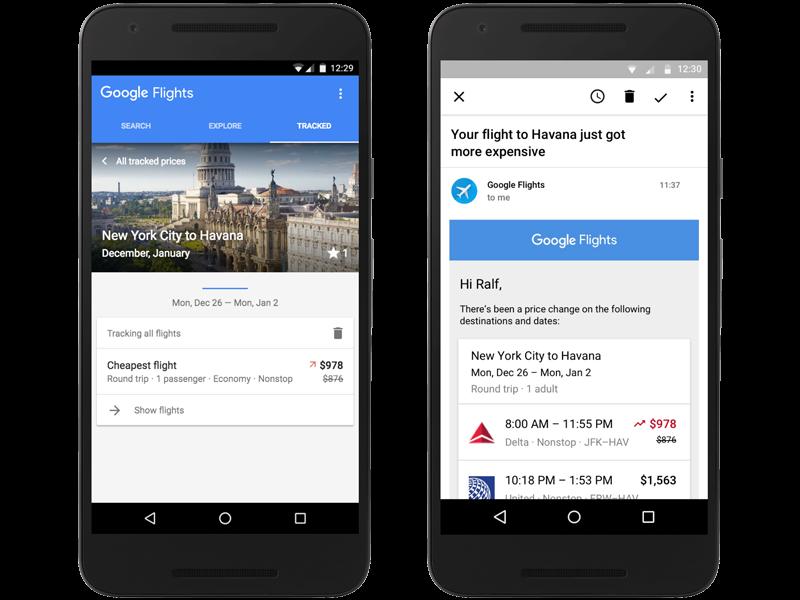 Google Flights Prices Up
