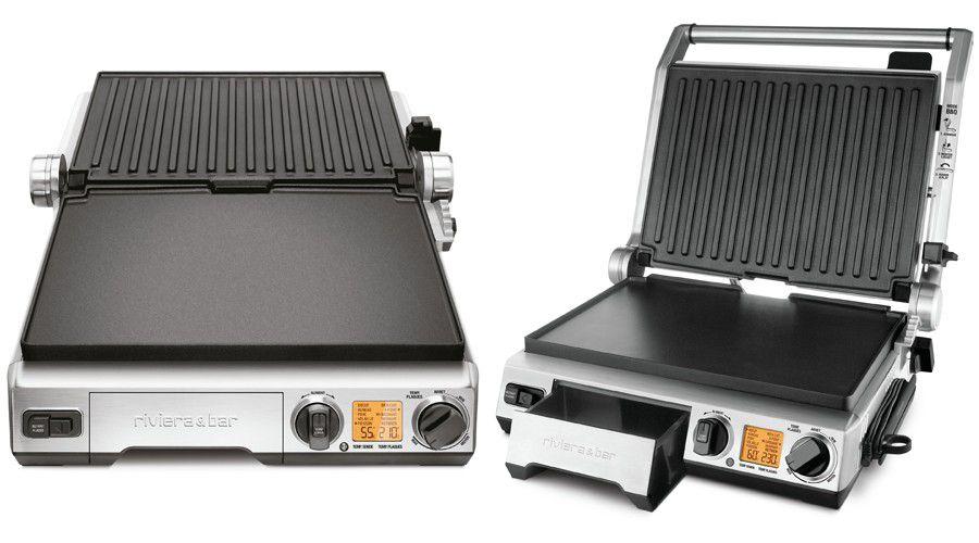 gril plancha barbecue pro qgc 850 le barbecue lectrique intelligent les num riques. Black Bedroom Furniture Sets. Home Design Ideas