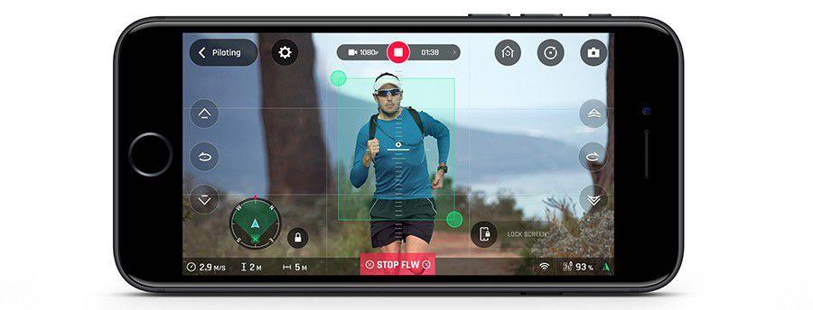 Parrot Running FollowMe Smartphone%20v2