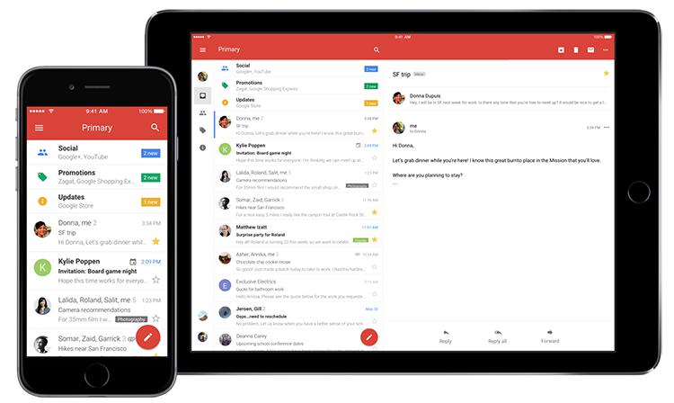 Gmail iOS