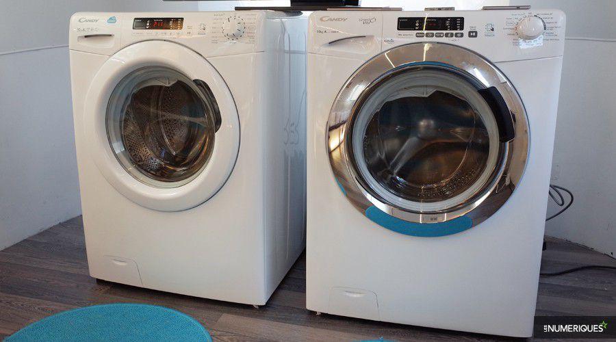 candy choisit le nfc pour ses nouveaux lave linge connect s. Black Bedroom Furniture Sets. Home Design Ideas