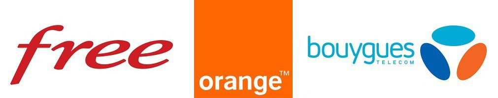 Free Orange Bouygues