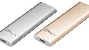 Plextor y va également de son SSD externe avec l'EX1 en USB 3.1 Gen 2
