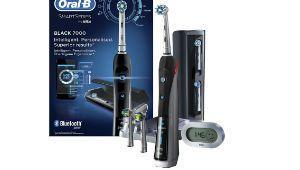 Cyber Days – Brosse à dents connectée Oral-B Pro 7000 noire à 107€