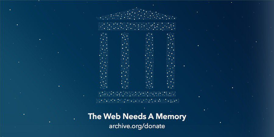 Internet Archive dons