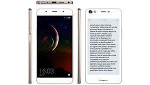 CES 2017 – Hisense A2, un smartphone double écran Amoled + E-ink