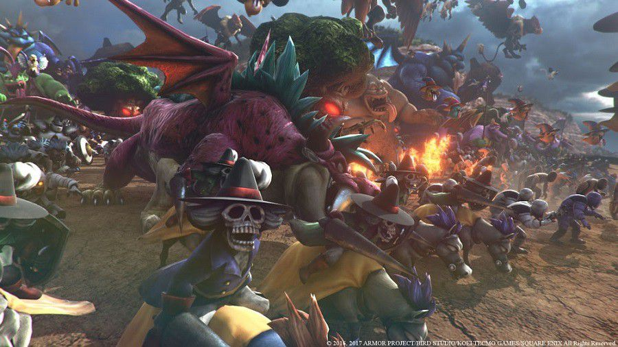 Dragon Quest Heroes II hordes